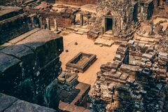 Aerial Photography of Ancient Tomb Stock Photos