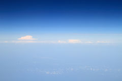 Aerial photography of atmosphere Stock Photo
