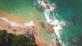 Aerial Photography of Beach Royalty Free Stock Photo