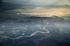 Aerial photography Stock Photo