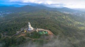 Aerial photography at big Buddha Stock Photography