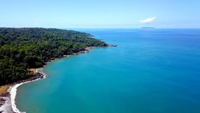 Aerial Photography of Body of Water stock photos