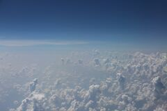 Aerial Photography of Clouds Stock Photography