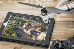 Aerial photography concept Stock Images