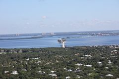Aerial photography Florida stock photography