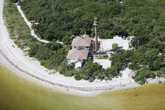 Aerial photography Florida stock photo