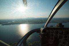 Aerial photography Royalty Free Stock Image