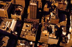 Aerial Photography of High Rise Buildings Royalty Free Stock Photo