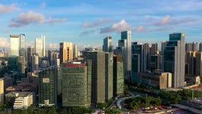 Aerial photography Shenzhen Hi-Tech Park, Guangdong, China