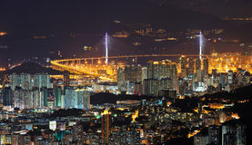 Aerial photography at Hong Kong Stock Photo