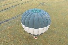 Hot Air Balloon over the Masai Mara, Kenya, Africa royalty free stock images