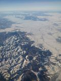 Aerial Photography Of Mountains royalty free stock image