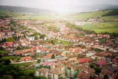 Aerial Photography of Residence during Daytime Royalty Free Stock Photography