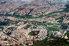 Aerial photography of Rome Royalty Free Stock Photo