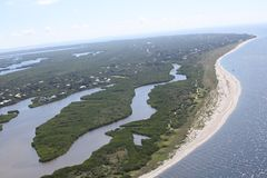 Aerial photography Florida royalty free stock images