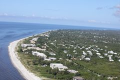 Aerial photography Florida stock image