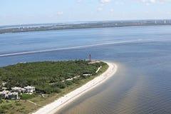Aerial photography Florida stock photos