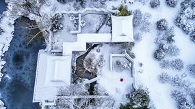 Aerial photography - Sun Yat-sen Mausoleum Scenic Area