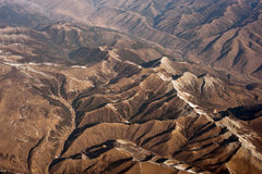 The Aerial photography, Tibet, the Himalayan Hengd Stock Photography