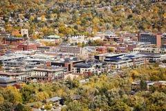 Aerial picture of Boulder City, Colorado, USA. Stock Image
