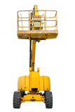 Aerial platform  on white background Stock Photography