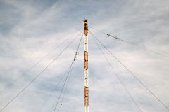 Aerial platforms for  transmission of radio waves Royalty Free Stock Photography