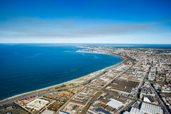 Aerial of Port Elizabeth South Africa Royalty Free Stock Photo
