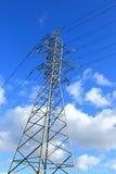 Aerial power line Stock Photos