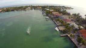 Aerial real estate Florida Keys Stock Image
