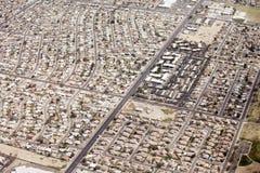Aerial residential phoenix, arizona Stock Image
