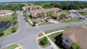Aerial residential Sarasota neighborhood Royalty Free Stock Images