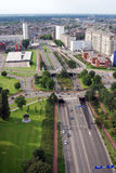 Aerial Rotterdam Royalty Free Stock Photography