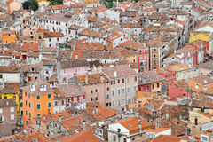 Aerial Rovinj Royalty Free Stock Photos