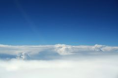 Aerial Scenics, Cloudscapes Stock Photography
