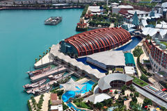 Aerial Sentosa Royalty Free Stock Images