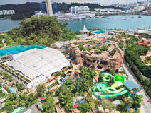 Aerial Sentosa Stock Photos
