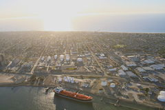 Aerial shipping Stock Photos