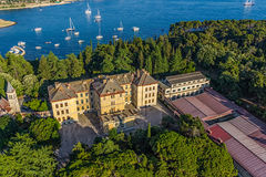 Rovinj aerial Royalty Free Stock Images