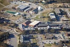 Aerial shopping center Stock Photos