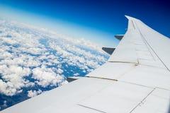 Airplane journey Royalty Free Stock Photo
