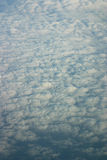 Aerial shot of clouds Stock Photos