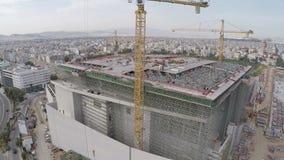 Construction of Stavros Niarchos Foundation Cultural Center