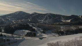 Aerial shot of deer valley resort park city utah. Video of aerial shot of deer valley resort park city utah stock video