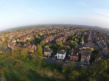 An Aerial Shot of the Lady Bay in Nottingham Stock Photography