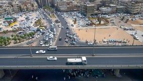 Aerial shot of the Medina Royalty Free Stock Photography