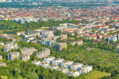 Aerial Shot of Munich Royalty Free Stock Photos