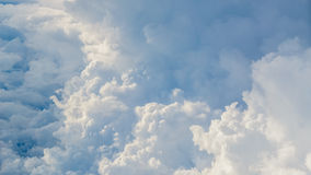 Aerial Shot of Sky Background Royalty Free Stock Images
