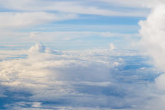 Aerial Shot of Sky Background Stock Photography