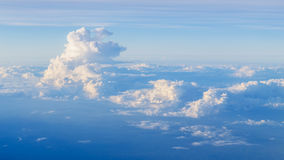 Aerial Shot of Sky Background Stock Image