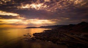 Shell Beach Sunset Stock Photos